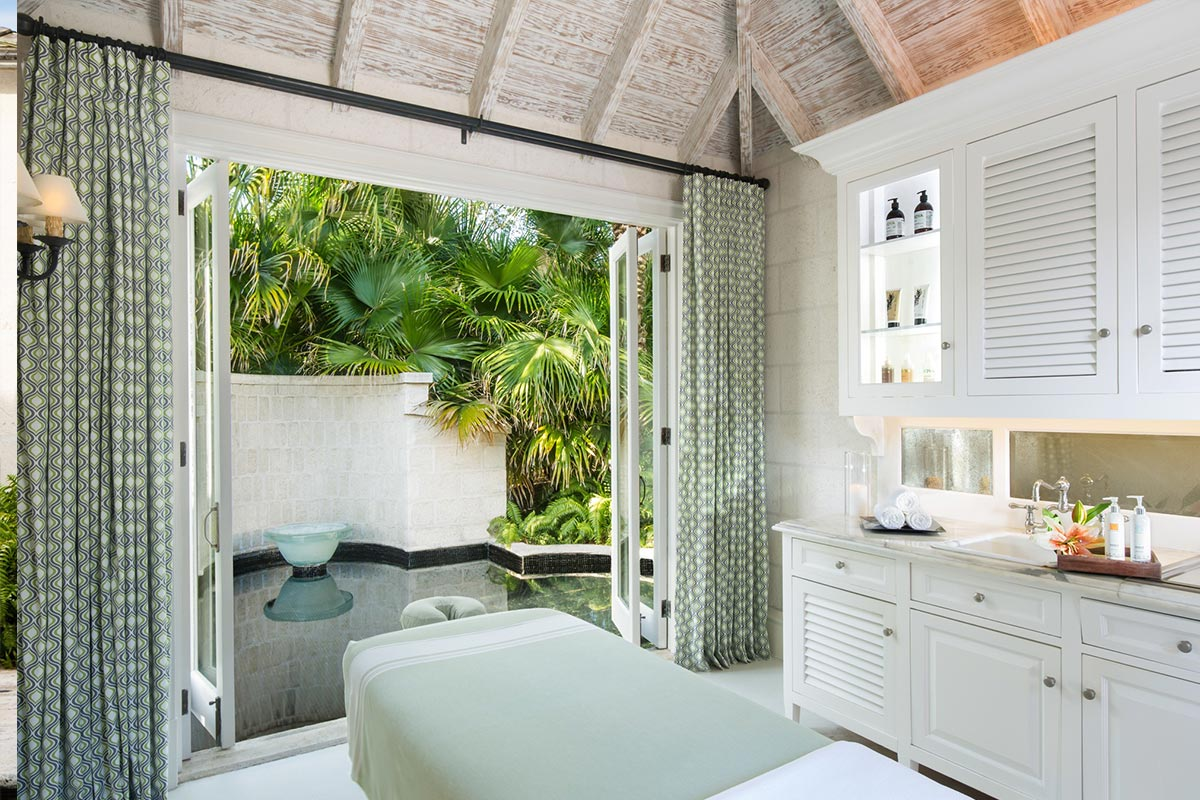 Book body and face spa treatments Turks and Caicos