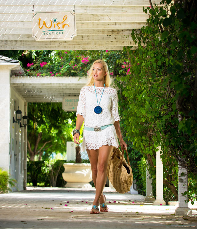 Stylish boutique at The Palms Turks and Caicos