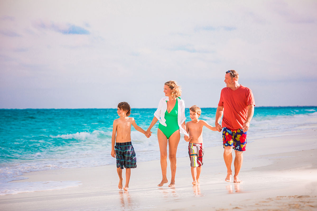 Free watersports and snorkeling equipment for families on Providenciales