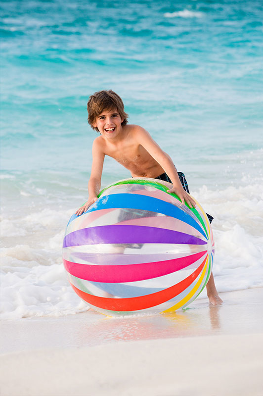Indoor and outdoor activities for children at The Palms