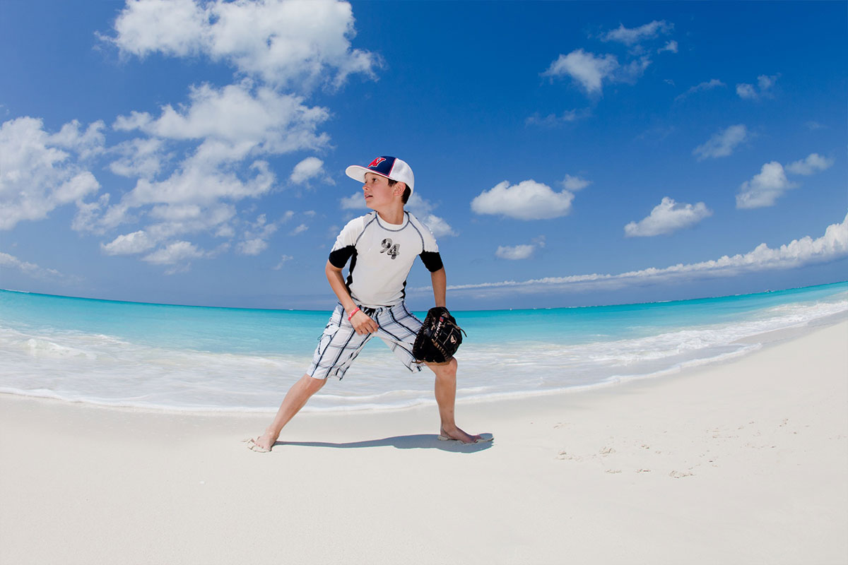 Beach activities for children at The Palms Turks and Caicos