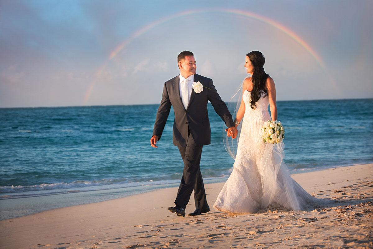 Dream beach weddings in Turks and Caicos