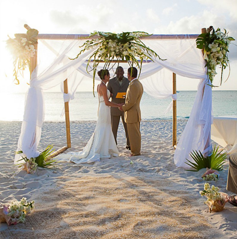 How to organize at wedding in the Turks and Caicos