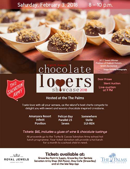 Chocolate Lovers Showcase The Palms