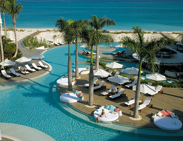 The Palms Turks and Caicos Infinity Pool