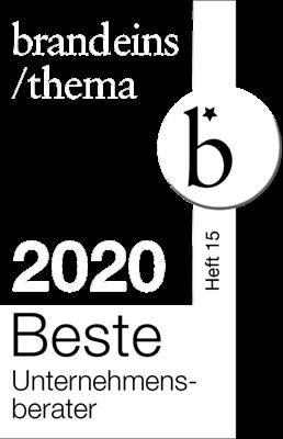 Auszeichnung brand eins beste berater 2020