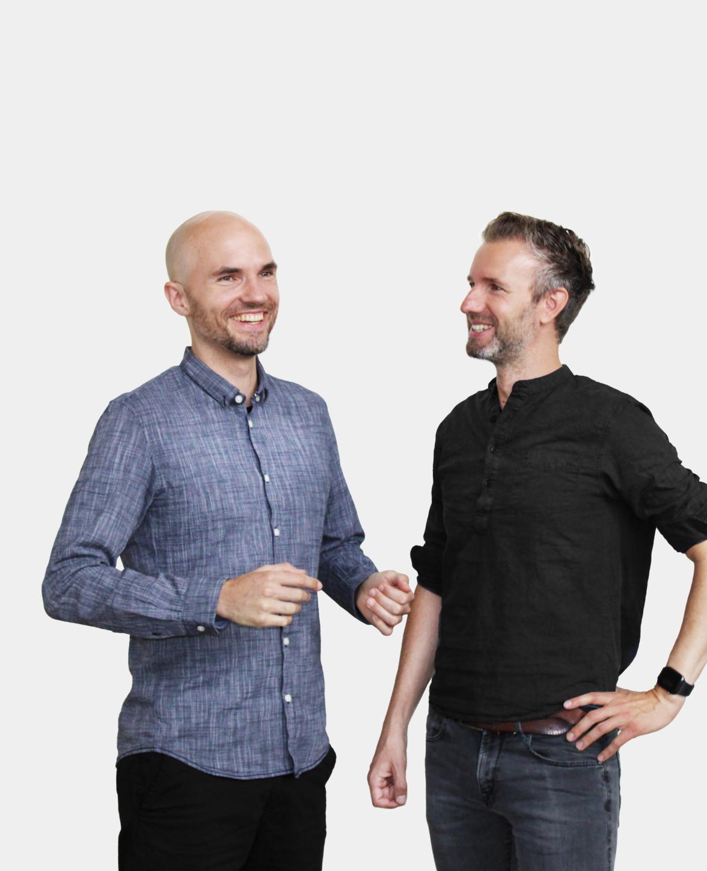 Syte founders David Nellessen & Matthias Zühlke