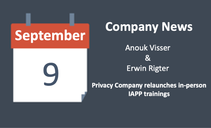 Privacy Company relaunches in-person IAPP trainings