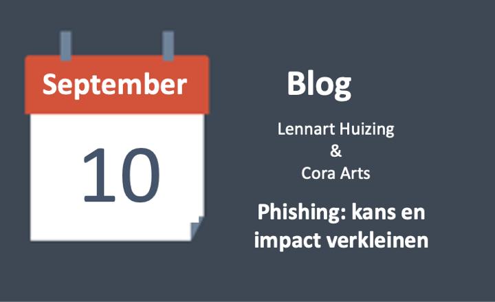 Phishing: kans en impact verkleinen