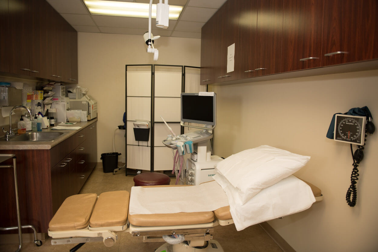 Patient examination room