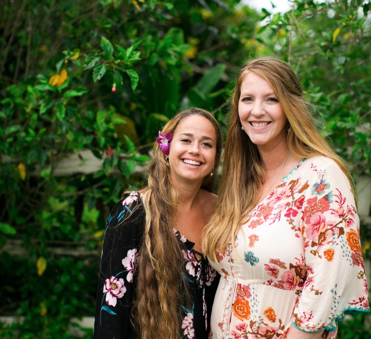 Hailey and Jess; owners of Kauai Elopements.