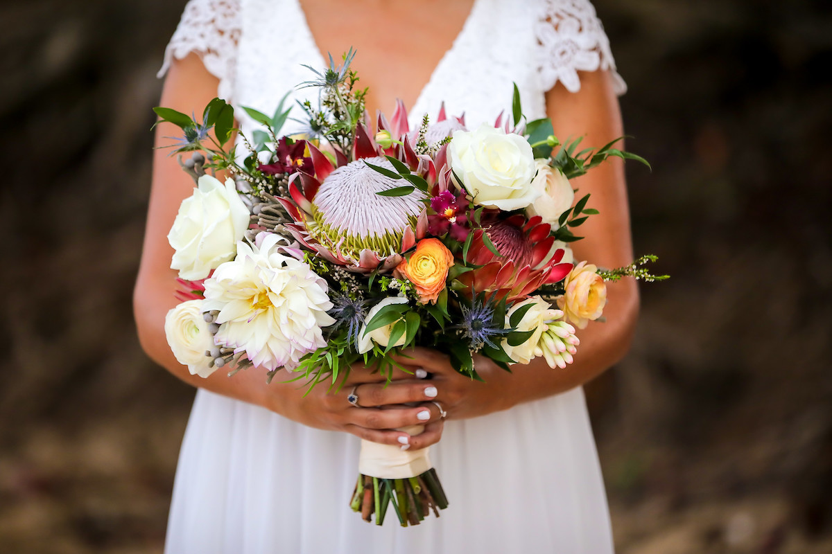 Boho bouquet.