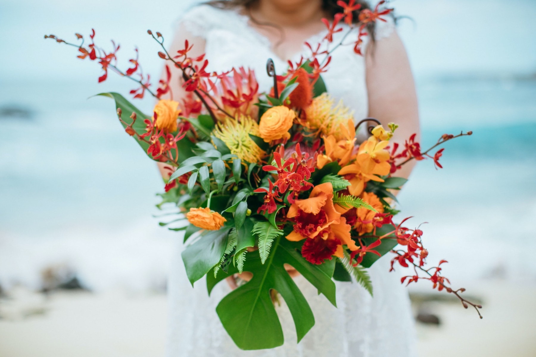 Tropical bouquet.