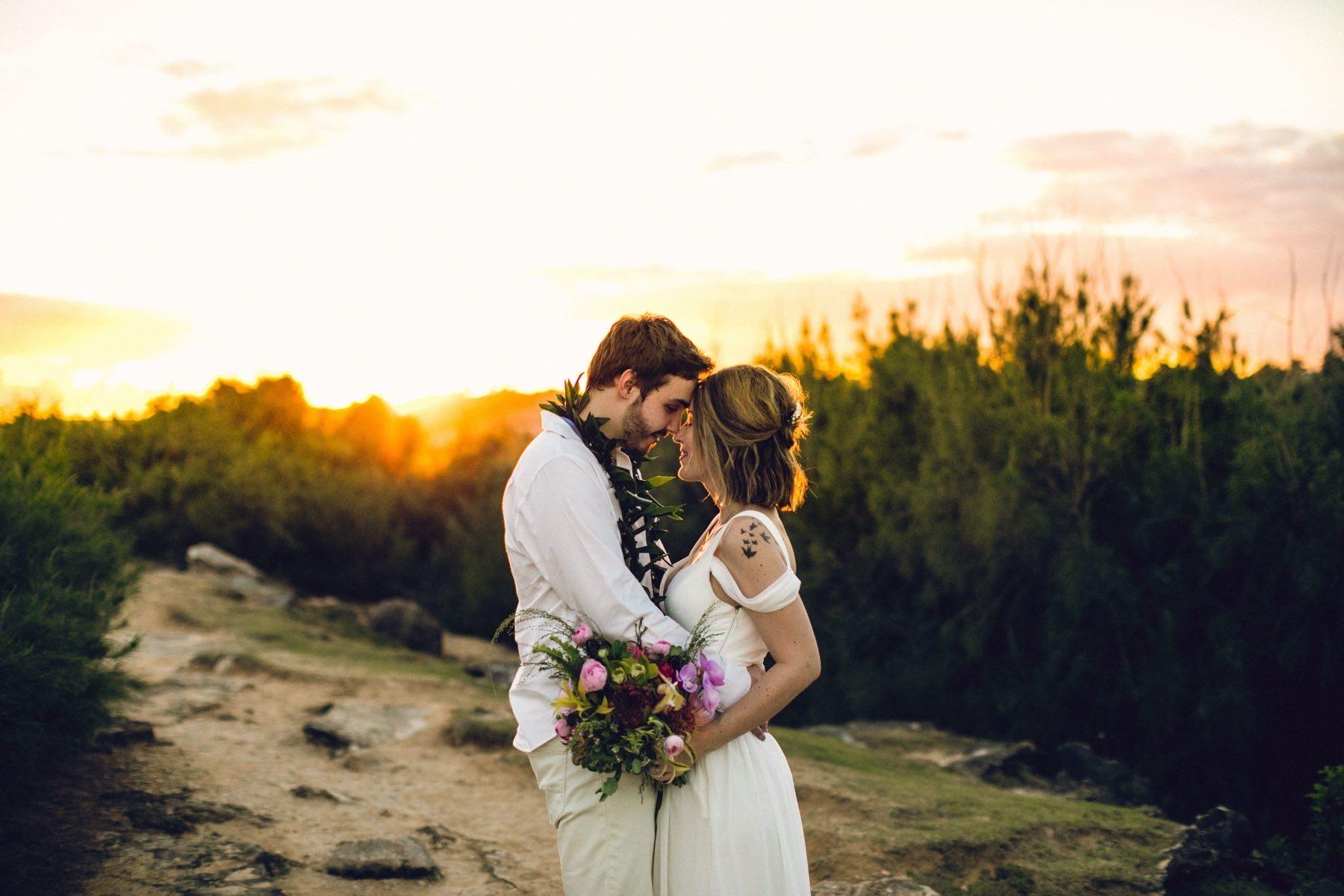 Wedding planner elopement in Kauai.