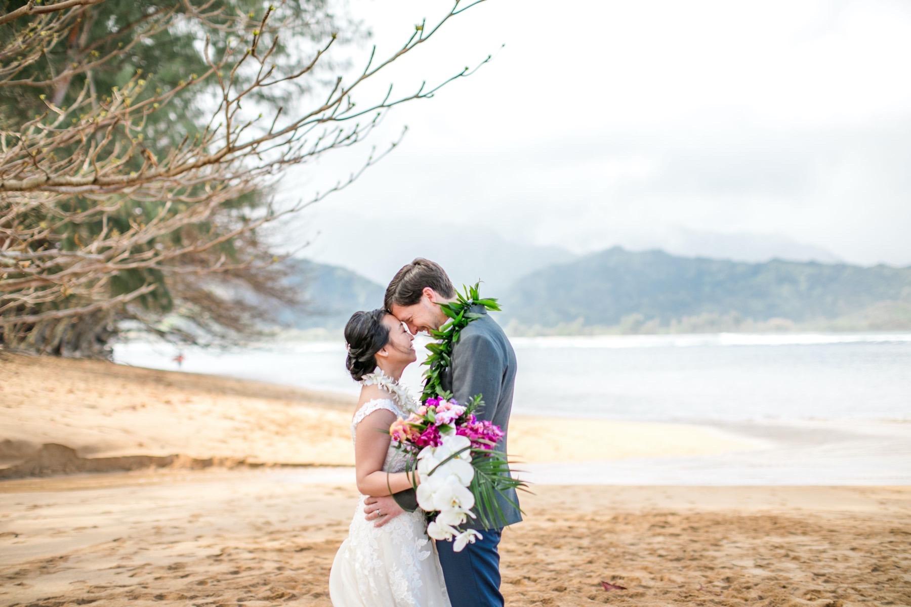 Phuong & Rob on their wedding day.