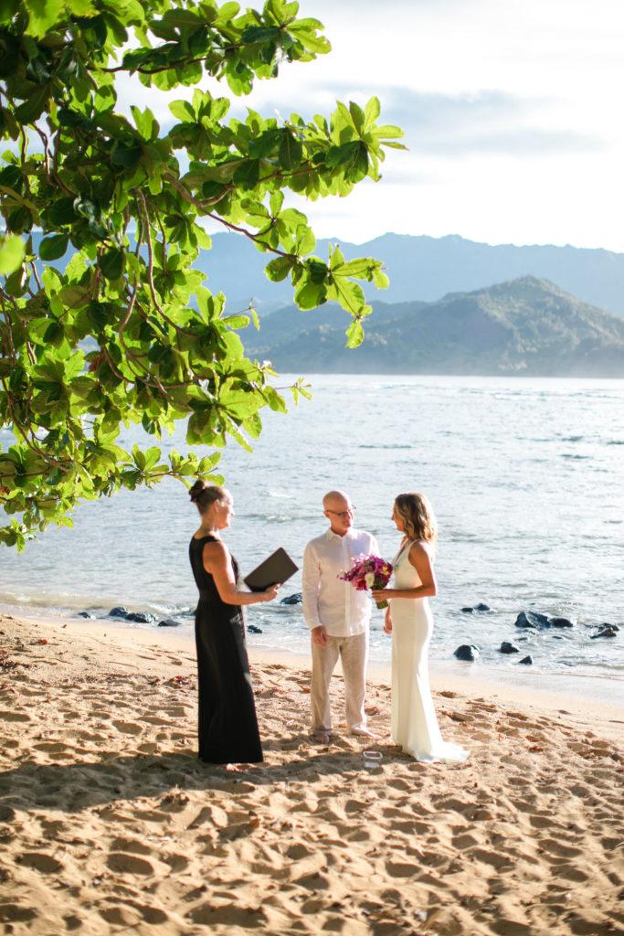 Eloping in Kauai.