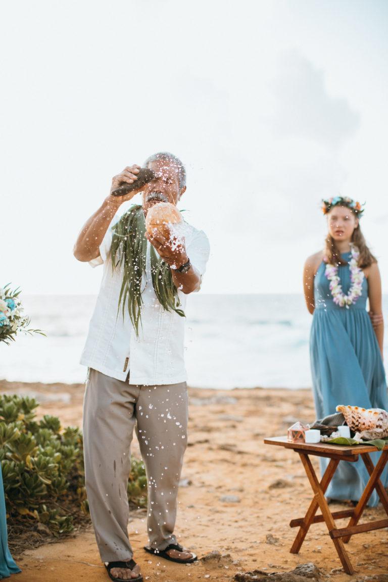 Wedding in Hawaii.