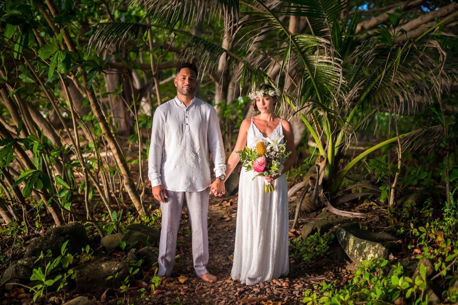 Erin & Zack getting married in Hawaii.