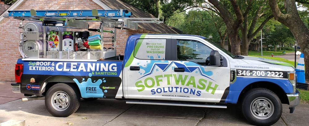 Softwash Solutions truck