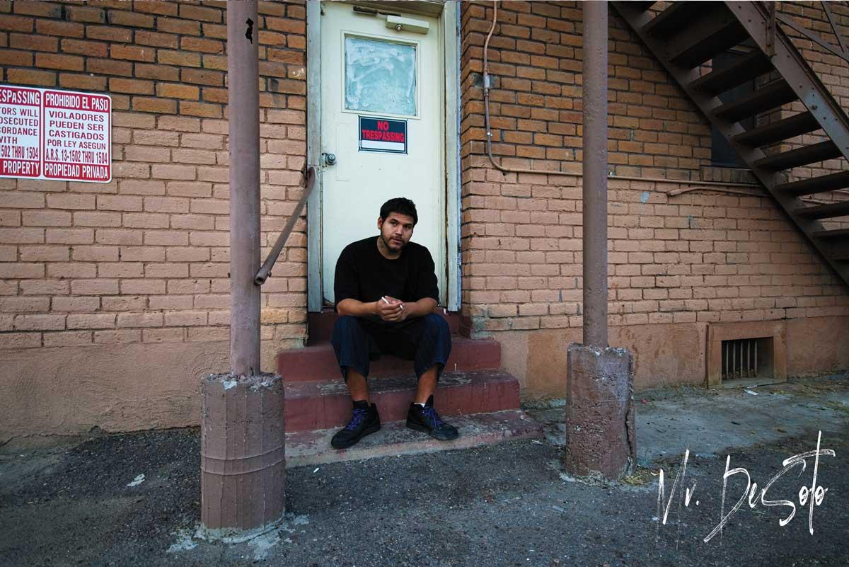 Homeless young man in phoenix arizona