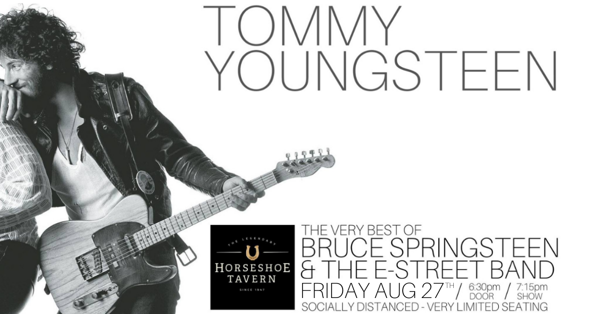Tommy Youngsteen performs Bruce Springsteen