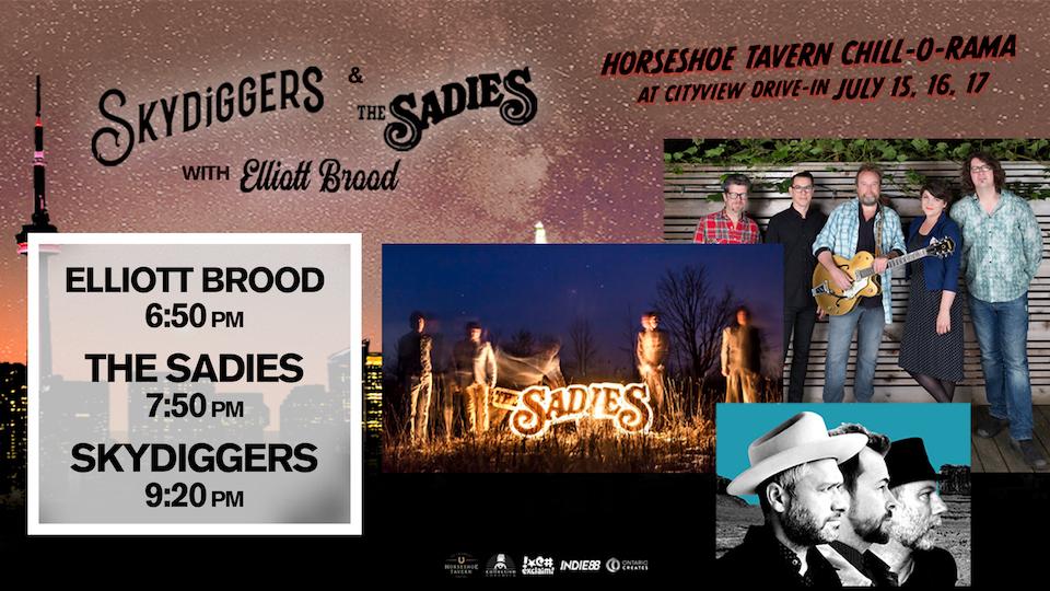 Skydiggers, The Sadies - Livestream