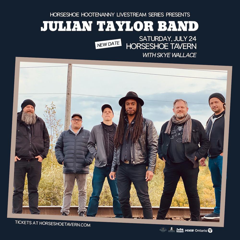 Rebroadcast - Julian Taylor Band