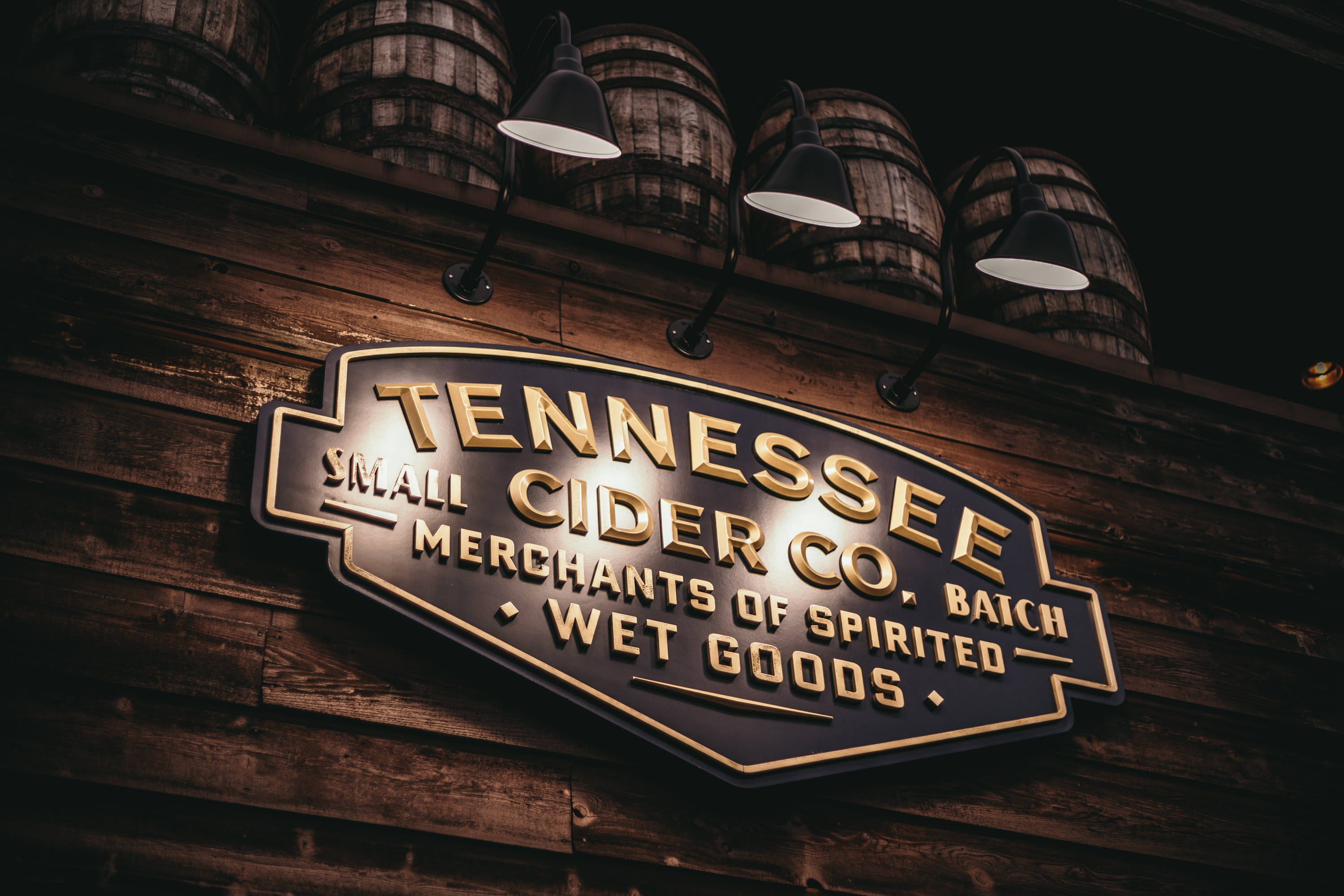Tennessee Cider Company Plaque in the Gatlinburg Tennessee Location