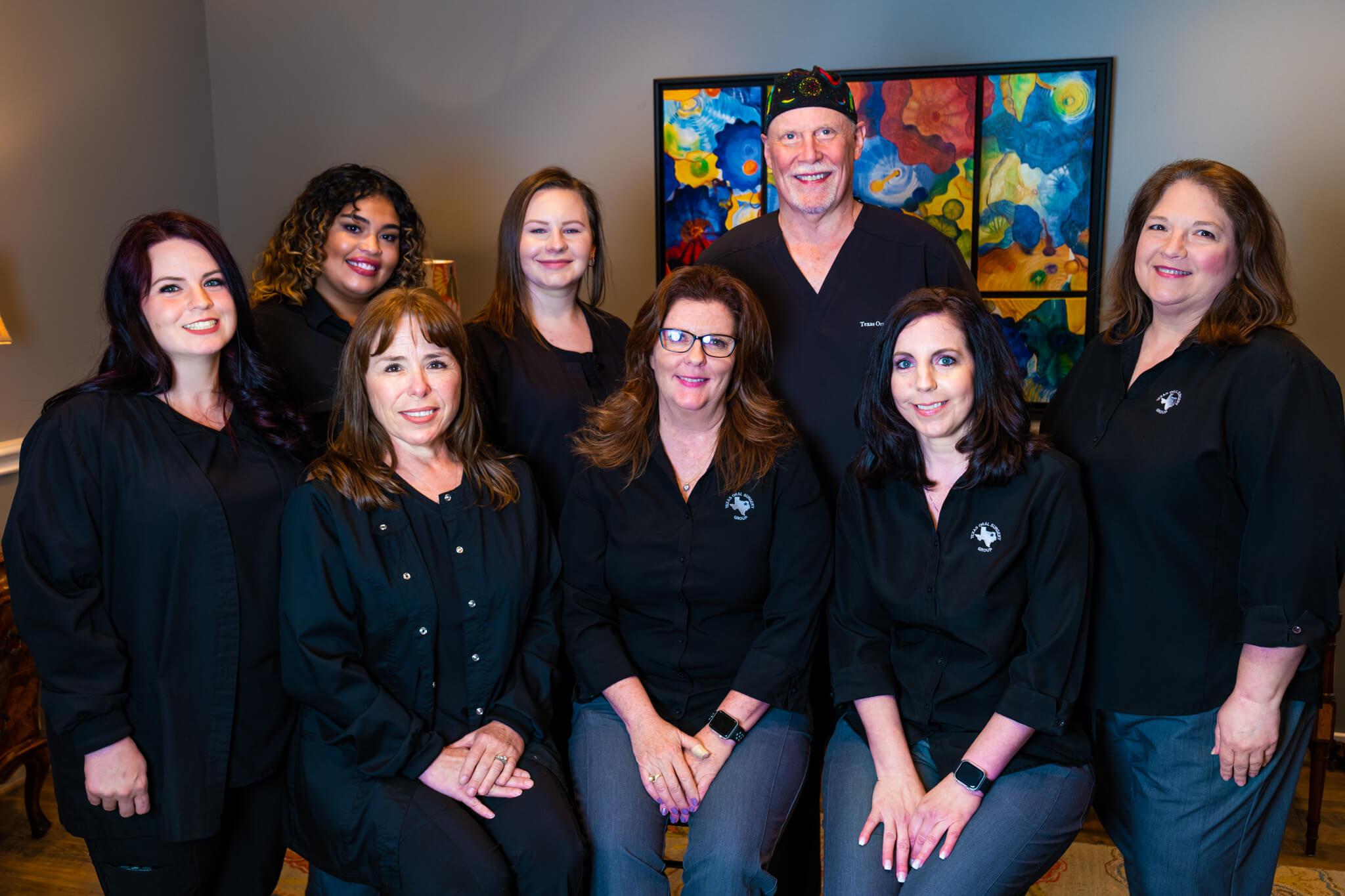 An experienced dental health team in Texas.
