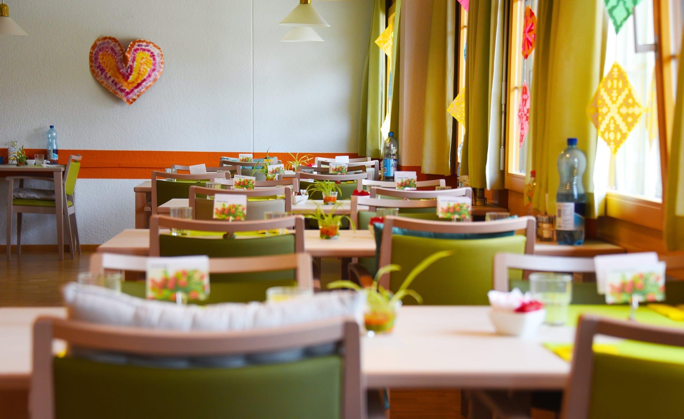 Speisesaal des Alters- und Pflegezentrum Rosengasse