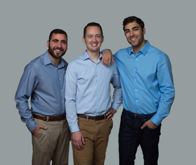 the leadership team smiling together