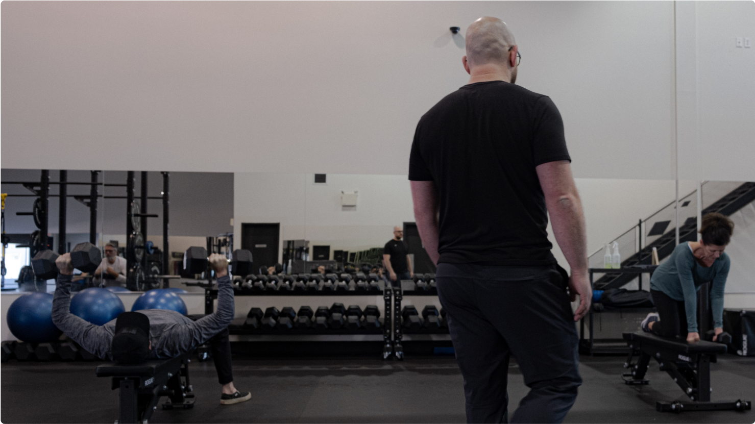 Paul Irwin. Integro Wellness Studio. Move better. Services include: Personal Training, Clinical Services, Dietician and Online Training.