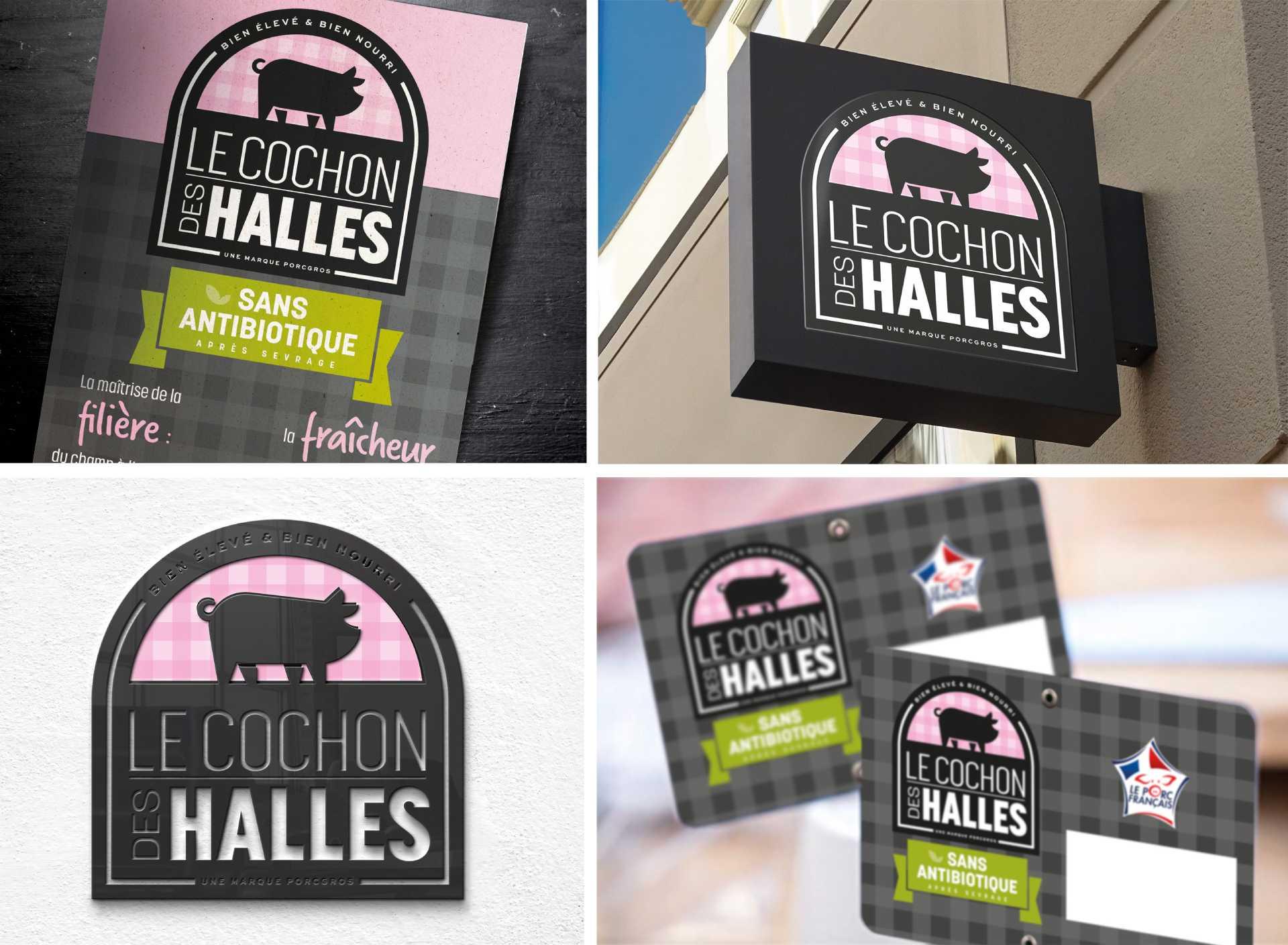 Elixir Design - Le cochon des Halles 3