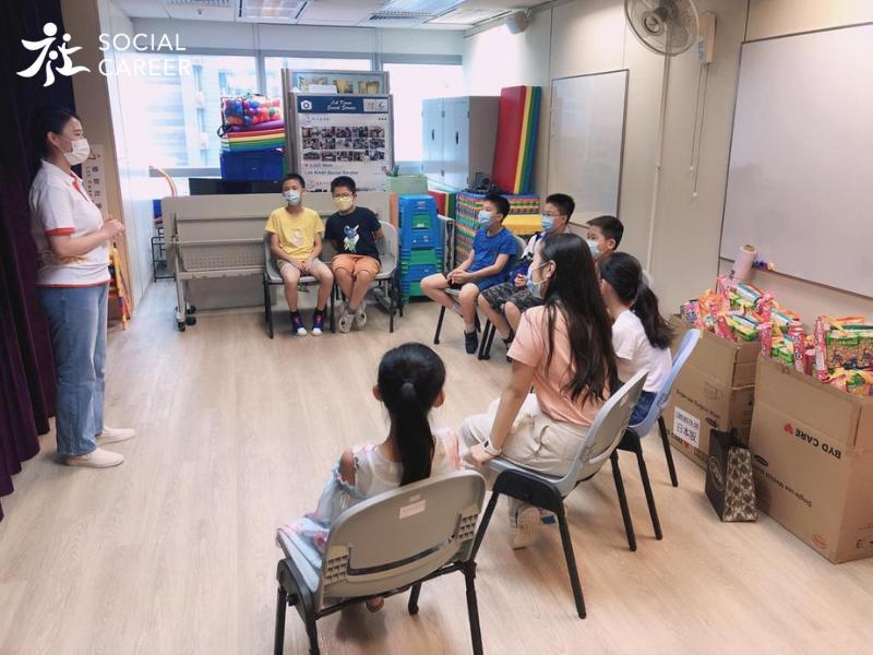 社職Social Career零食書包活動派送 – 社區中心