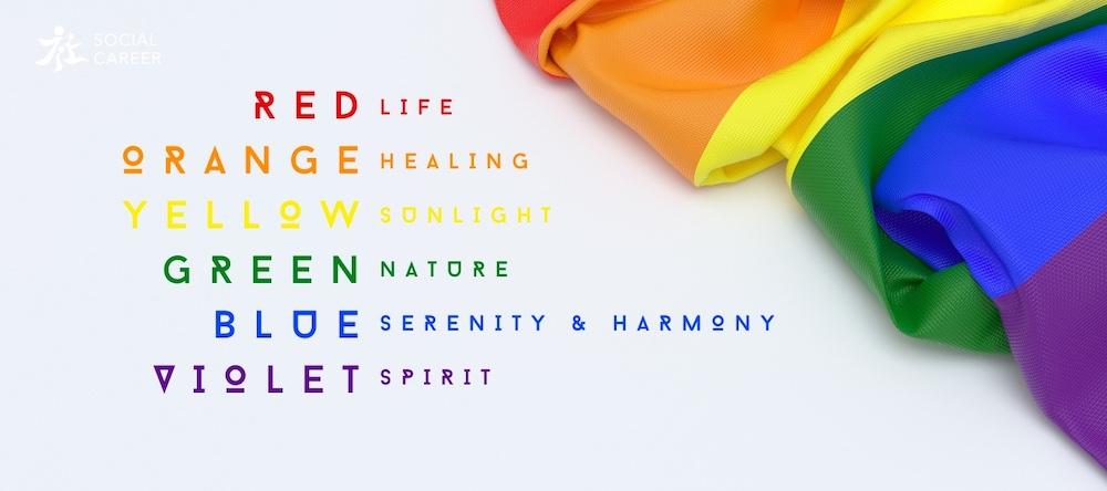 彩虹旗顏色意義