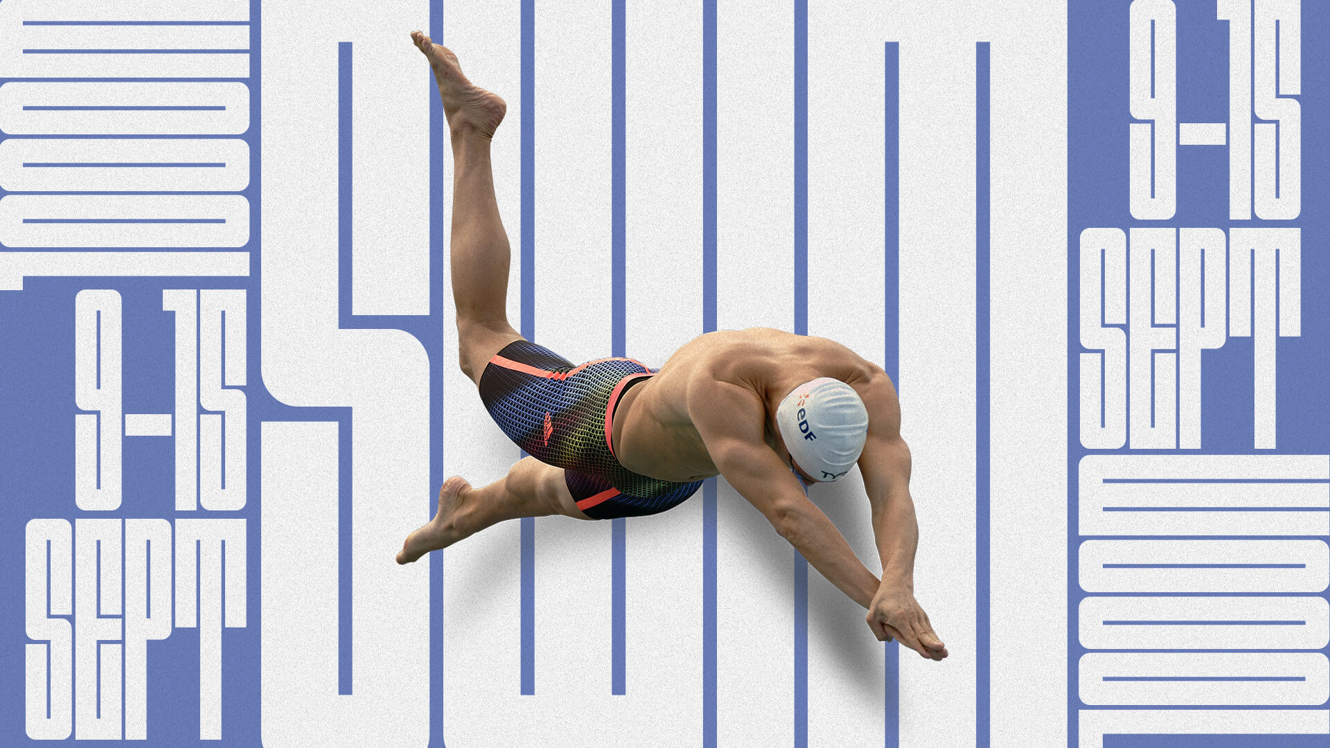 Virtual Race Swimming