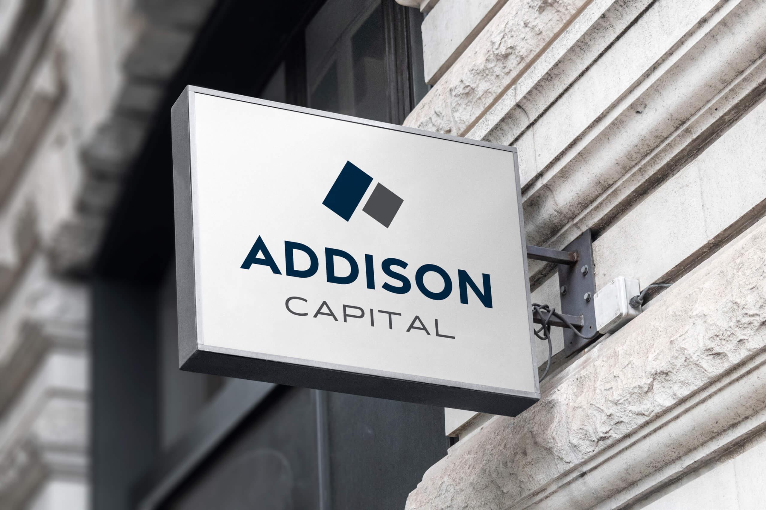 Addison Capital Sign