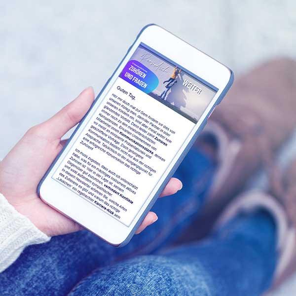 Newsletter persönlich weiter | Haufe Akademie