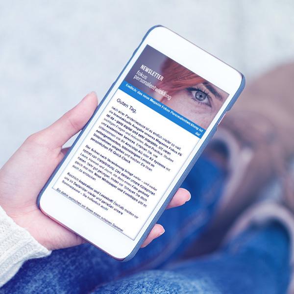 Newsletter Fokus Personalentwicklung | Haufe Akademie