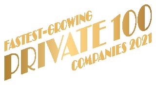 Private 100 businesses logo