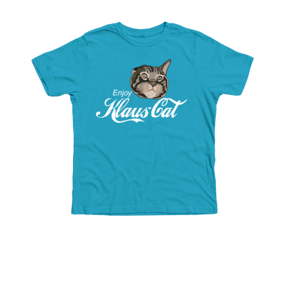Klaus is it! Oskar and Klaus merch, a Turquoise Premium Youth Tee