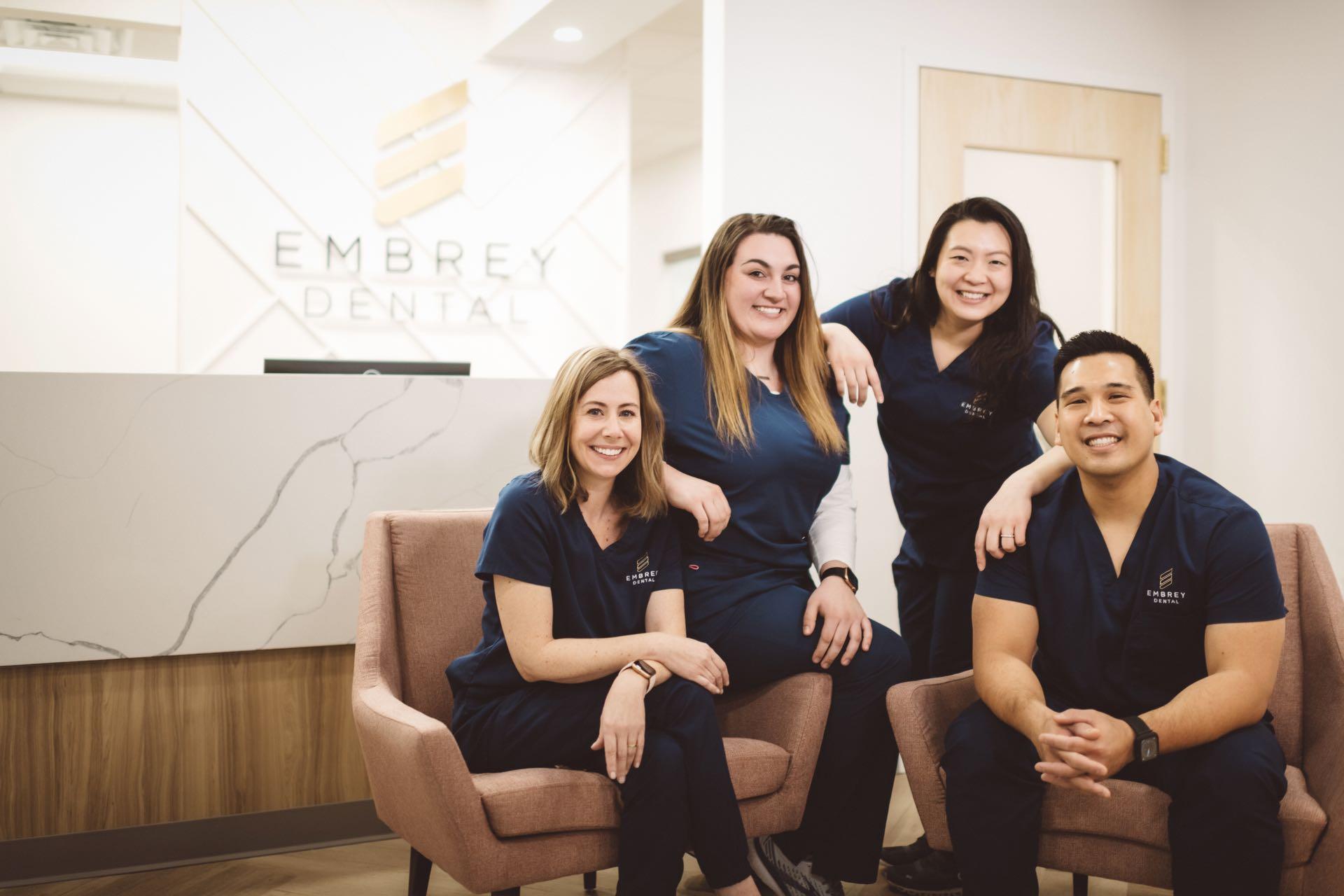 Photo of the Embrey Dental team