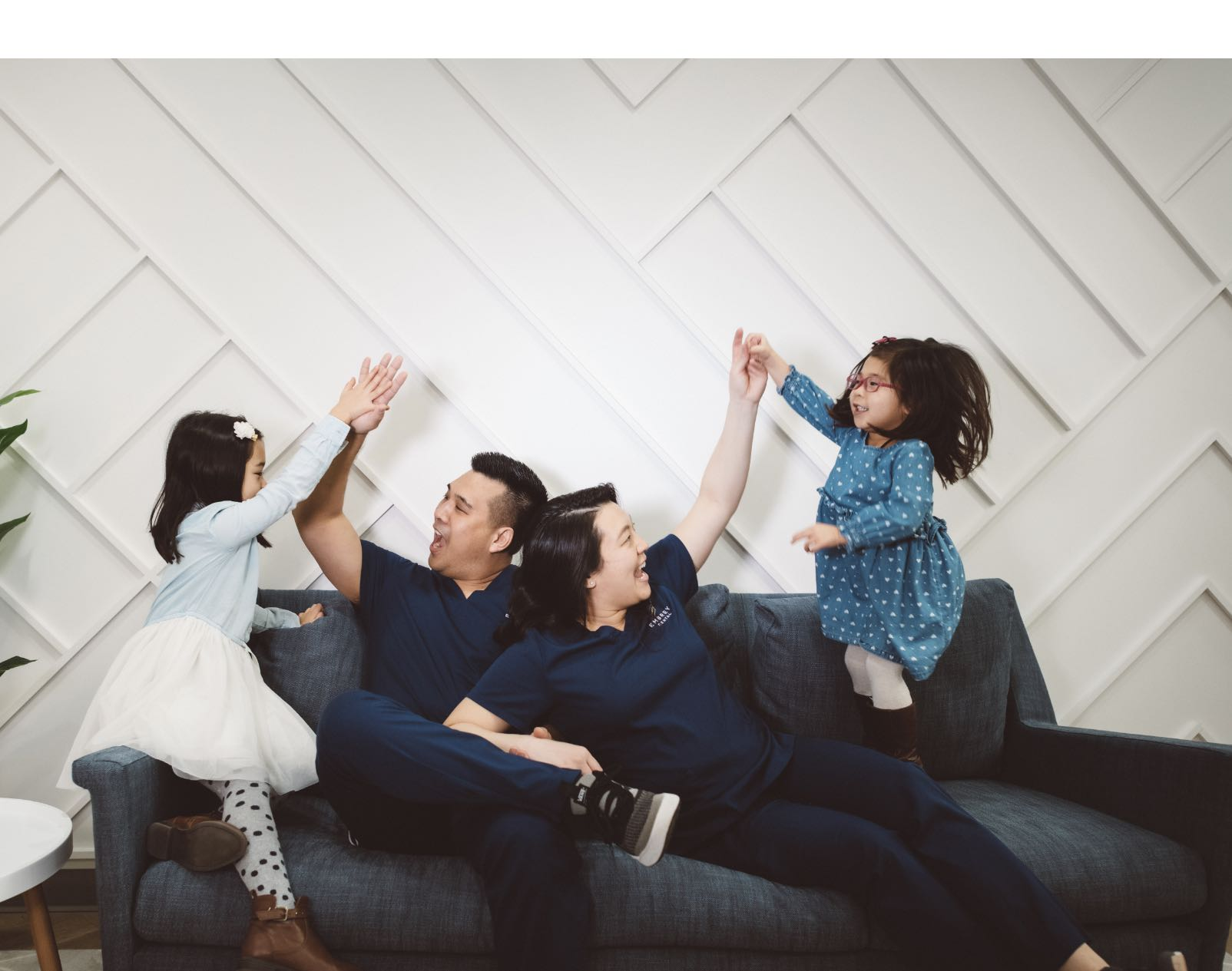 Photo of Dr. Peter Lim and his family