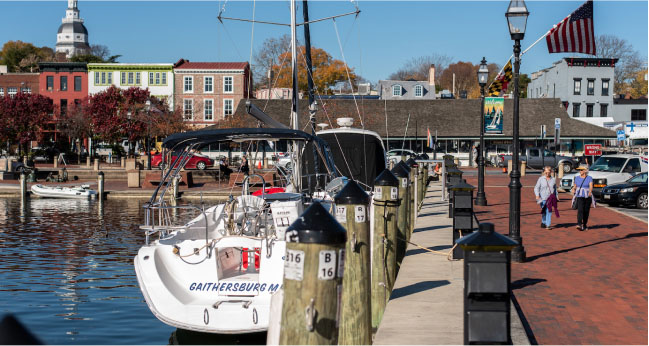 City Dock and Ego Alley