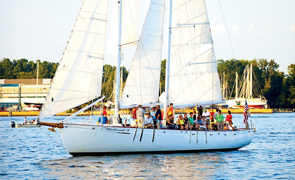 Underway in America's Sailing Capital