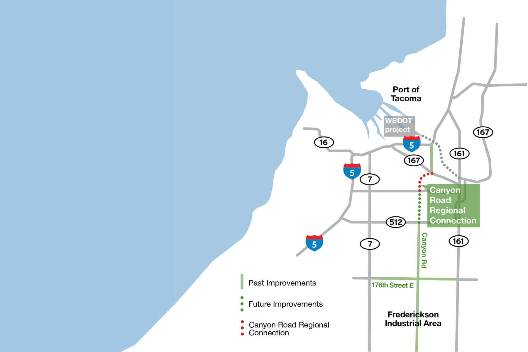 Canyon Road Regional Connection map