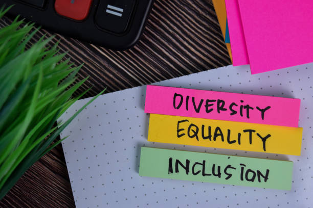 Diversity Equality Inclusion write on a sticky note isolated on Office Desk. Diversity Equality Inclusion write on a sticky note isolated on Office Desk. diversity stock pictures, royalty-free photos & images