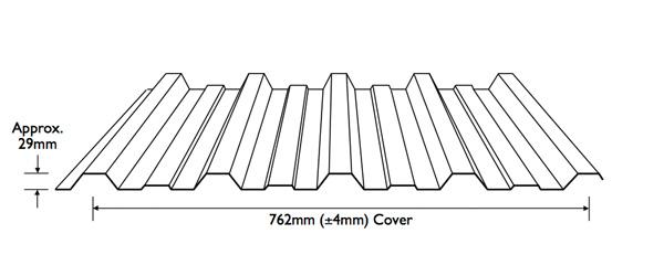 Metal Roofing Supplies - Stramit Monoclad