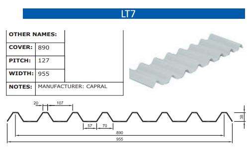 LT7 Fibreglass Profile