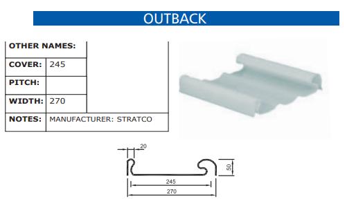 Outback Fibreglass Profile
